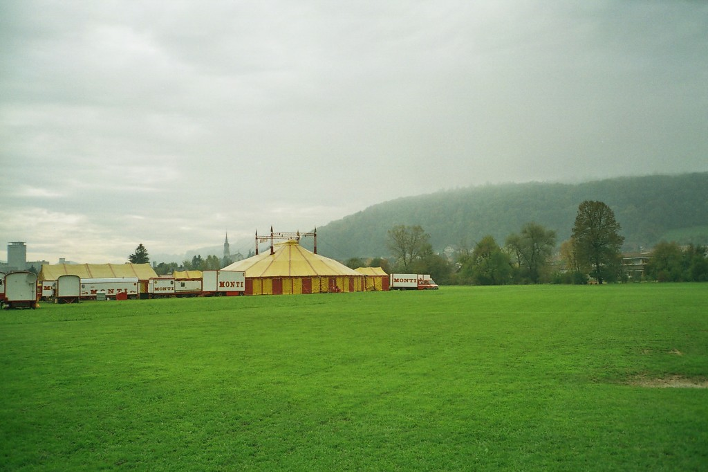 Circus Monti bigtop.