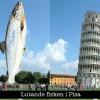 Lutande fisken i Pisa